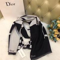 фирменный платок оптовых-Y2019Высокое Качество New Fashion дизайнер бренда Шарф шерстяной шелк Кашемировые женские шарфы квадратный Платок