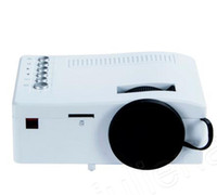 ingrosso dlp costruito proiettore wifi 3d-Mini proiettore UC UC18 LCD Supporto HDMI USB AV TF Card Home Cinema Proiettore portatile per Smart Phone TV