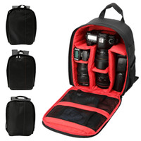 Wholesale multi camera bags resale online - Camera Backpack Multi functional Video Bag for Digital DSLR Photo Case Outdoor Waterproof Cover for Photographer Nikon
