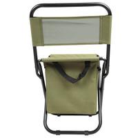 silla plegable portátil de viaje al por mayor-Respaldo plegable Silla de PVC resistente al agua Portátil Termo de Hielo Bolsa de Pesca Taburete Para La Pesca Salir Picnic Camping Viajes