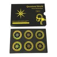 наклейки для мобильного телефона оптовых-Quantum Shield Наклейка Мобильный телефон Наклейка для сотового телефона Анти-Радиационная защита от ЭМП Fusion Excel Anti-Radiation