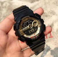 Wholesale new style bracelet male for sale - Group buy luxury Bracelet Watches Sports G Style Military Watches for Man Male Gift Watch Men s Outdoor Casual Rubber Wristwatches LED Clock