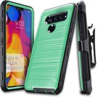 caisse de puissance pour samsung achat en gros de-Coque pour Defender Clip pour Samsung S10 Plus J2 Core J3 J7 2018 pour LG V40 X power 3 Stylo 4 K10 2018