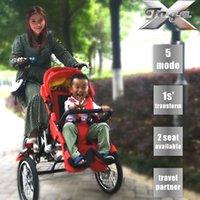 ingrosso la moto si siede-Taga x bike madre Passeggino Passeggino in viaggio piega facilmente la madre di fronte seduto Modalità Halflying Modalità Sleeping