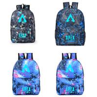 Wholesale cool men shoulder backpacks for sale - Group buy Apex legends luminous bag men women bag youth campus bags fashion cool backpack student school computer backpack