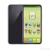 goophone 16gb 4g оптовых-5.8-дюймовый Goophone X 1 ГБ RAM 16 ГБ ROM MTK6580 QuadCore 8-мегапиксельная беспроводная зарядка FaceID 3G WCDMA Andriod CellPhone Герметичная коробка Поддельные 4G отображается