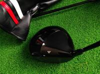housses de pilotes de golf achat en gros de-T3 Driver S3 Golf Driver Clubs de golf 9,5 / 10,5 degrés R / S / SR-Flex KUROKAGE 55 tige en graphite avec couvre-chef
