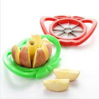 ingrosso affettatrici di mela da cucina-Utensili da cucina Affettatrice pera per mele Fresa per taglierini Frutta Divisore per pomodori Manico in plastica Comfort Pelapatate Accessori e gadget da cucina
