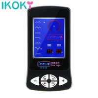 Wholesale sm player sex for sale - Group buy IKOKY Awesome Themed Toys SM Player AwesomeMassager Sex Toys for Electric Shock Host Multi function Electro Stimulation Y191112