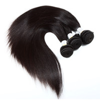 Wholesale vietnamese 7a brazilian hair weave resale online - In stock Cheap A human Brazilian hair extensions natural black straight hair weaves no tangle bag