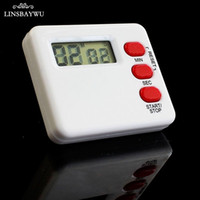 Wholesale countdown clock minutes for sale - Group buy LINSBAYWU Small Egg Timer Countdown Sport Study Rest Digital Minute LCD Kitchen Clock