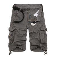 ingrosso corti di camuffamento dell'esercito militare-Mens Cargo Militare 2019 Brand New Army Camouflage Tattico Shorts Uomo Cotone Allentato Lavoro Casuale Pantaloni Corti Plus Size MX190718