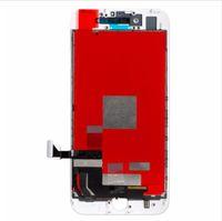 reemplazo de la pantalla frontal del iphone blanco al por mayor-NUEVA calidad para iPhone 7 Balck / Pantalla LCD blanca con reemplazo de digitalizador de pantalla táctil + cámara frontal Envío de DHL gratuito