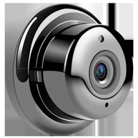 cámara de webcam caliente al por mayor-Nuevo HD de alta Wi-Fi de almacenamiento 360 grados VR Panorámica Webcam ojo de pez AP Hot Spot Mini monitor inalámbrico Cámara de seguridad