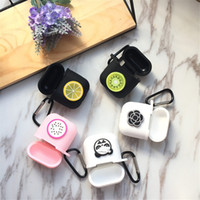 Wholesale headphone best for sale - Group buy Cute Cartoon Earphone Bag Case For Apple Airpods Full Protective Silicone Soft Headphone Cover With Different Designs Best Gifts