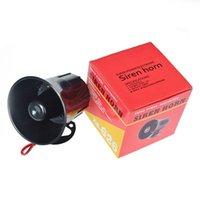 câblage d'alarme de voiture achat en gros de-Prix de gros DC 12V fil corne fort alarme de sécurité à la maison extérieure Siren 115Db haut-parleur sirène de voiture pour système d'alarme antivol