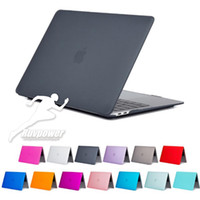 Wholesale macbook hard cases 13 inch for sale - Group buy Universal Crystal Clear Matte Rubberized Hard Protective Case For Macbook Air Pro Retina with pack