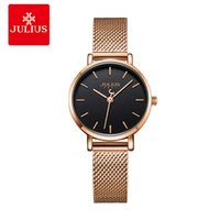 Wholesale 6mm buckles for sale - Group buy Julius Watch Ultra Thin mm Simplicity Casual Women s Watches Stainless Steel Fashion Top Brand Montre JA