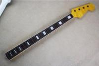 peças de guitarra de qualidade venda por atacado-Vendendo Top quality 20 Trastes Maple baixo Elétrico Da Guitarra pescoço rosewood fingeboard Guitar acessórios Parts guitarra instrumentos musicais