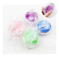 kafa masaj tarağı toptan satış-Yuvarlak silikon kafa masajı yıkamak için fırça masaj kafa derisi kaşıntı banyo germinal plastik kafa meridyen tarak MMA2149