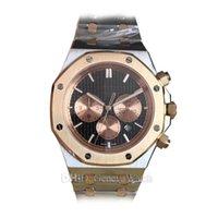 спортивные наручные часы mens sapphire оптовых-Спортивные мужские дизайнерские часы Браслет из нержавеющей стали 316L Браслет с белым циферблатом Наручные часы с сапфировым стеклом 41 мм Роскошные часы Montre de Luxe