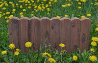 blumen für grenzen großhandel-Blumen Hof Pflanzung Zaun Kunstzement Stein Maker Mould Log Kanten Grenze Kunststoff Gips Betonform Diy Garden Decor