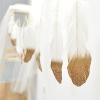 Wholesale feather for birthday party decoration for sale - Group buy 2019 White Indian Feather Flag Banner Meters Wedding Decorations For Country Wedding Hanging Decorations Birthday Party Events