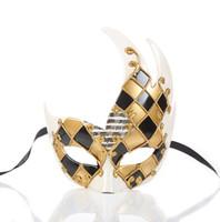 ko großhandel-2019 neue maske alten stil chinesischen stil halbes gesicht dämon fuchs volles gesicht anime wie wenn leicht zu lassen sonnencreme tanzen silikon vollmaske