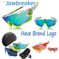 Wholesale lunette soleil sunglasses resale online - Men Lens Polarized Jawbreak Sunglasses Mannen Sun Glasses occhiali da sole Eyewear lunette de soleil Gafas De Sol Hombre