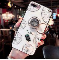 reloj de marca de teléfonos móviles al por mayor-Nueva marca de diseño estilo reloj reloj caja del teléfono móvil Iphone caja del teléfono móvil XR XS MAX X 6 7 8 P