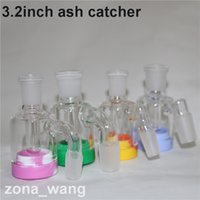 Wholesale bong sales for sale - Group buy hot sale inch Glass Ash Catcher with Detachable ml silicone container for mini dab oil rig mm mm glass ashcatcher bong
