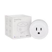 ingrosso interruttore wifi di uscita-Mini Smart Wifi Socket Smart Home Plug L'interruttore di sincronizzazione intelligente della presa funziona con la presa di controllo remoto wireless di casa Alexa Google