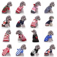 köpek giysileri satmak toptan satış-En Çok Satan Yeni Köpek Noel Cadılar Bayramı Partisi Giyim Yeni Geliş Örme Köpek Pet Kostüm Noel Outerwears Coat Triko Giyim