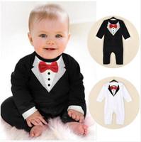 ingrosso indumenti da signore-in vendita calda nuova primavera e in estate nuovo stile baby boy gentiluomo Climb vestiti per bambini Romoers bambini tute per bambini tuta per un pezzo.