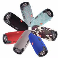 beste mini-lautsprecher für telefon großhandel-Drahtlose Beste Bluetooth Lautsprecher Wasserdichte Tragbare Outdoor Mini Spalte Box Lauter Subwoofer Lautsprecher Design Für Telefon pc