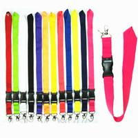 hängendes handy großhandel-Neue Mode Sport Design Lanyards Smartphone Neck Hanging Strap Multi-Color-Marke für Handy Schlüsselanhänger Ohrhörer