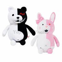 anime teddybär großhandel-Monokuma Plüschtier Danganronpa: Trigger Happy Havoc Monokuma Plüschpuppe Spielzeug Teddybär Kuscheltiere Großhandel Puppe