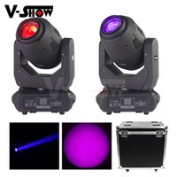 Wholesale wash moving head case resale online - 2pcs W in1 wash spot beam Moving Head lights with case hold2 dj light Stage Light DMX Control Dj Light For Club Wedding