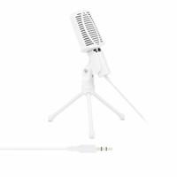 mikrofon stand pc toptan satış-Profesyonel Kondenser Ses Kayıt Mikrofon PC Live Broadcast KTV XXM8 için Tripod Standı ile