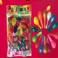 decorações de arco venda por atacado-DHL Látex Balão Livre Engrossar 10 Polegadas Decorações De Casamento Balão Arco Balão Crianças Novidade Brinquedos Ornamento Do Partido