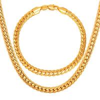 schmuck für frauen großhandel-5mm Art- und Weiseluxus18k reales Gold überzogene Kettenhalsketten-Mens-Frauen Hip Hop Schmucksache-Geschenk-Großhandelszusätze