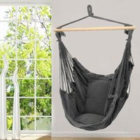 Wholesale outdoors swings for sale - Group buy Portable Travel Camping Hanging Hammock Home Bedroom Lazy Swing Chair Garden Indoor Outdoor Fashion Hammock Swings Seat Chair DBC BH3146