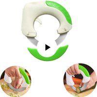 Wholesale meat slicing for sale - Group buy Multifunctional Stainless Steel Round Shaped Rolling Circular Kitchen Knife Pizza Meat Cake Vegetable Cutter Kitchen Tool