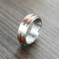 Wholesale geometric rings resale online - Vintage Female Rose Gold Finger Ring Luxury Silver Color Wedding Rings For Men Women Charm Bridal Geometric Engagement Ring