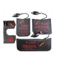 herramientas de selección de bloqueo bmw al por mayor-Las mejores herramientas originales de Klom PUMP WEDGE LOCKSMITH de cuña de aire Airbag de bloqueo Juego de selección Cerradura de puerta de coche abierta Negro S / M / L / U 4pcs / lot