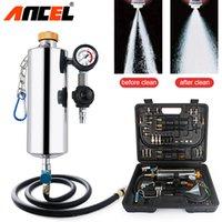 inyector de combustible para mitsubishi al por mayor-Ancel GX100 Auto Injector Cleaner No desmonte Auto Fuel Injector Cleaner Probador de coches Herramienta de lavado Para Gasolina Gasolina Cars