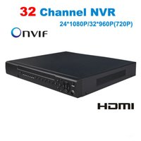 Wholesale mobile cctv dvr for sale - 32Channel Network Video Recorder P2P Cloud CCTV NVR ONVIF H H for IP Camera Support Windows Mobile Support cellphone