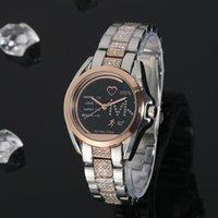 uhr diamanten porzellan großhandel-2019 frauen luxus china armbanduhr quarz-batterie designer damen wasserdicht kleid diamant edelstahl gold silber t / t t uhren