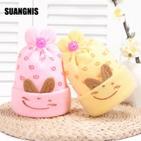Wholesale crochet hats for sale for sale - Group buy 2019 Hot Sale Baby Hat Toddler Girls Boy Winter Warm Beanie Hat crochet Caps Beanie for Y children s factory Price