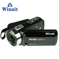 ingrosso macchina fotografica della porcellana mega-winait china a buon mercato HDV-F6 videocamera digitale dello schermo rotante LCD max 24 mega pixel